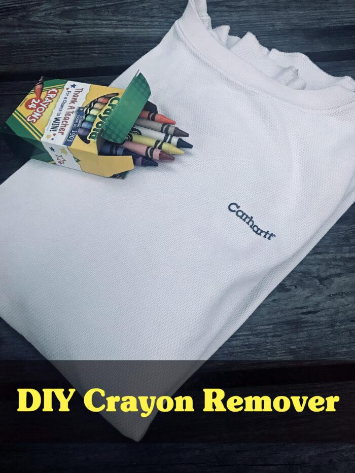 DIY Crayon Remover
