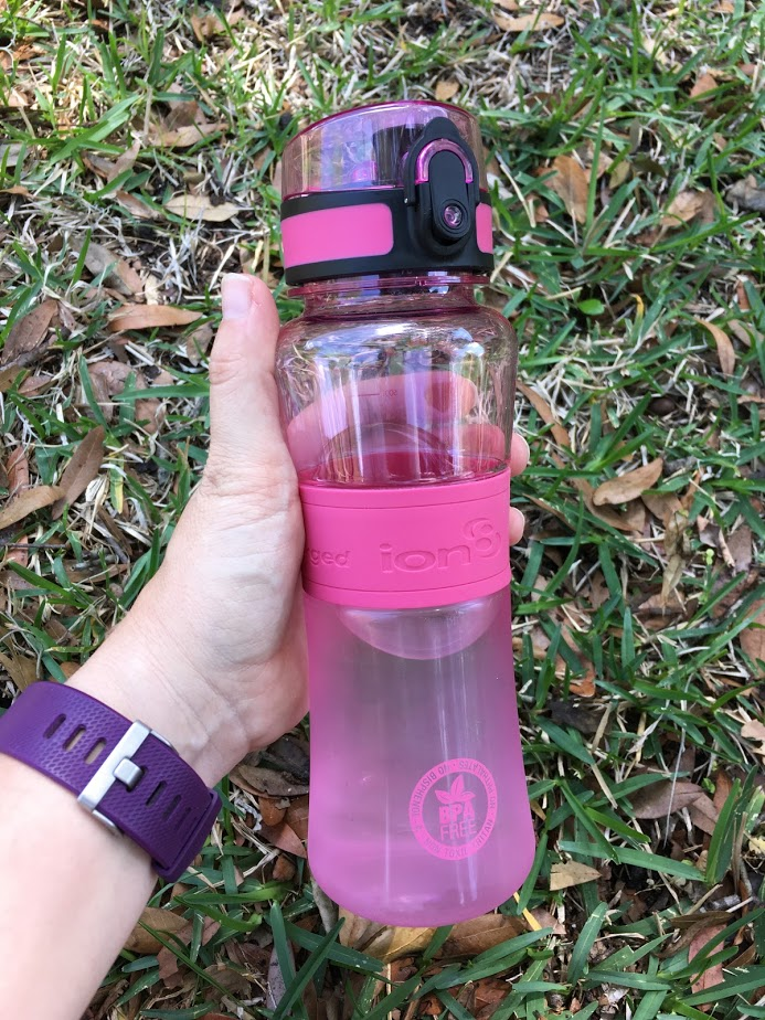 Experience the New ion8 Water Bottle: Fast Flow, Leak Proof & A Hygienic Flip Top