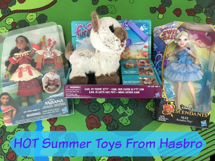 HOT Summer Toys From Hasbro Including Moana, Descendants & FurReal Pets + Giveaway