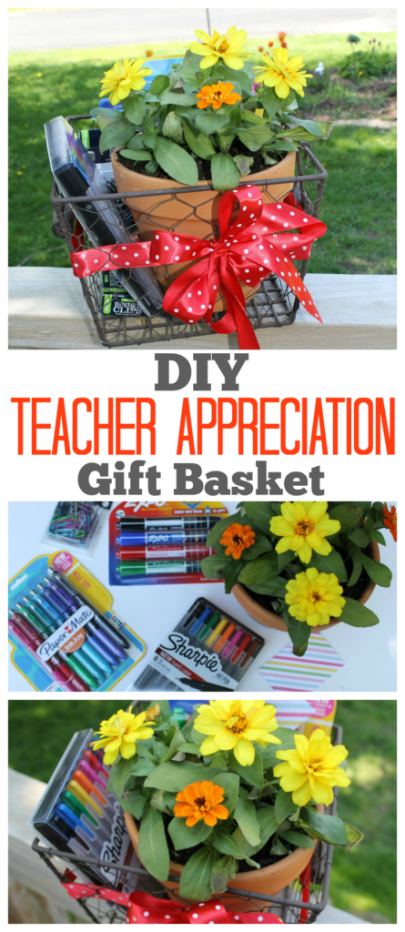 This DIY Teacher Appreciation Gift Basket is a perfect way to say thank you to that special teacher in your child's life. Grab the tutorial on how to make it.