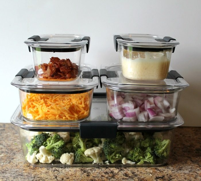 Easy Prep Ahead Broccoli Cauliflower Salad