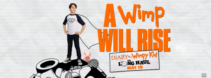 Diary of a Wimpy Kid: The Long Haul + Giveaway