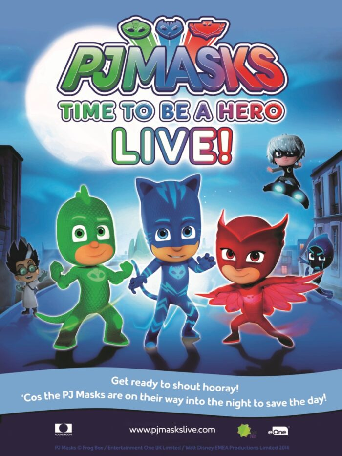 PJ Masks Live! Theatrical Tour Dates Released!