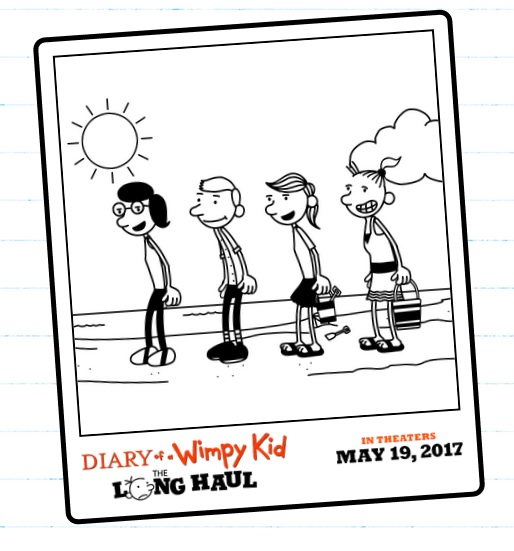 Diary of a Wimpy Kid: The Long Haul in Theaters May 19th + Giveaway