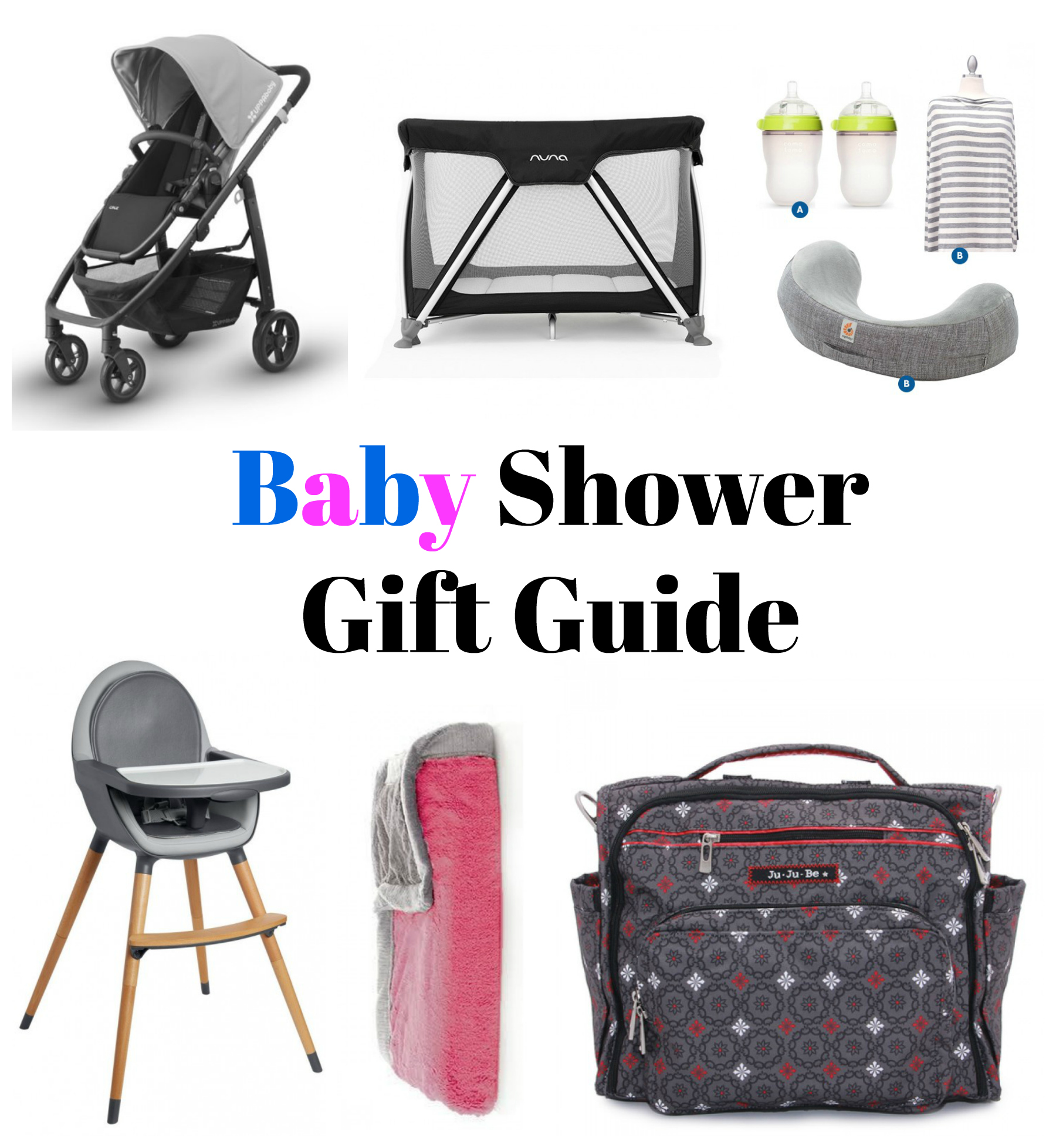 Baby Gift Guide : Baby shower gift guide outnumbered to