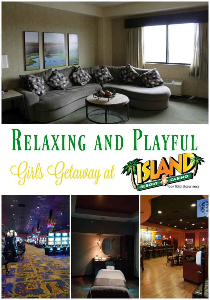 Relaxing and Playful Girls Getaway at Island Resort & Casino