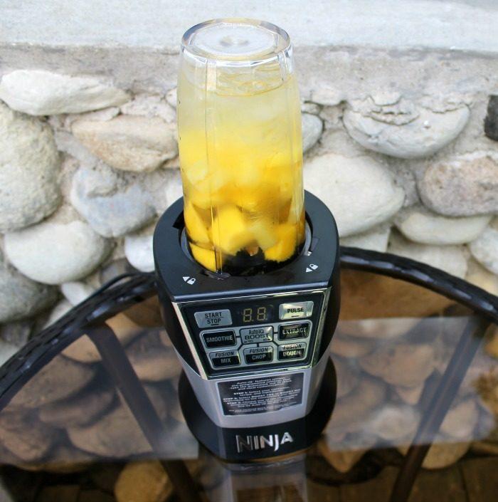 mango and pineapple sangria slush