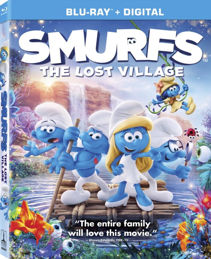 Smurfs: The Lost Village Debuts on Digital, 4K, Blu-ray & DVD