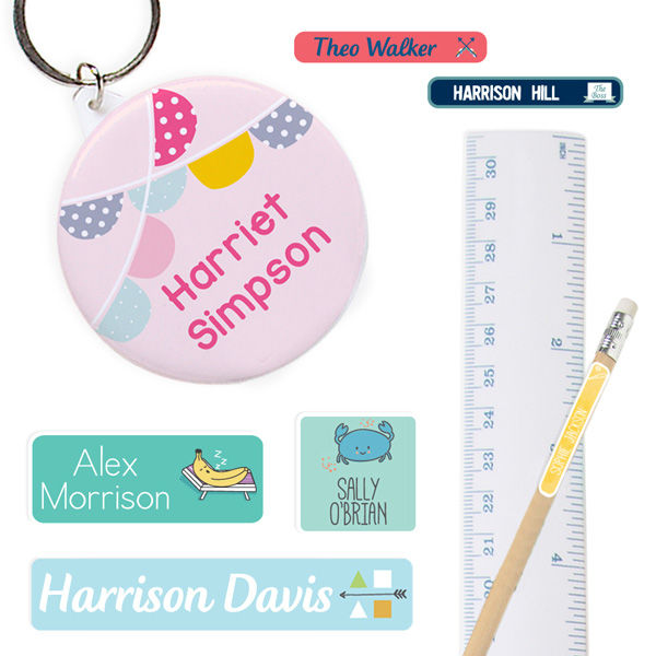 Get Ready for Back-to-School With Personalized Labels From Stuck On You