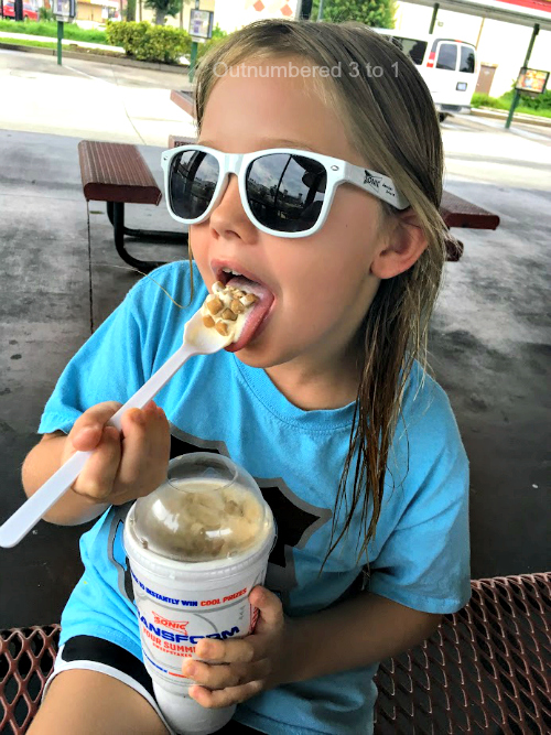 SONIC Drive-In's Newest Custard Concrete Flavor - Chocolate Chip Cookie Dough!