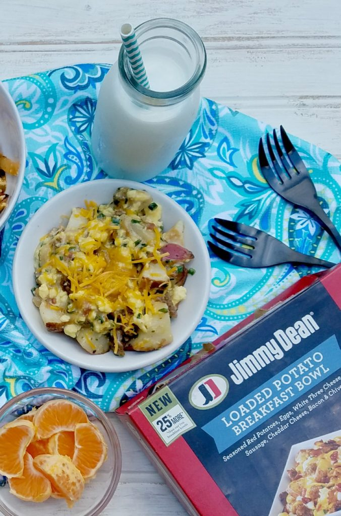 Easy Breakfast for Busy Days from Jimmy Dean