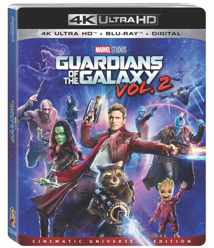 Marvel's Guardians of the Galaxy Vol. 2 on 4K Ultra HD & Blu-ray on August 22nd