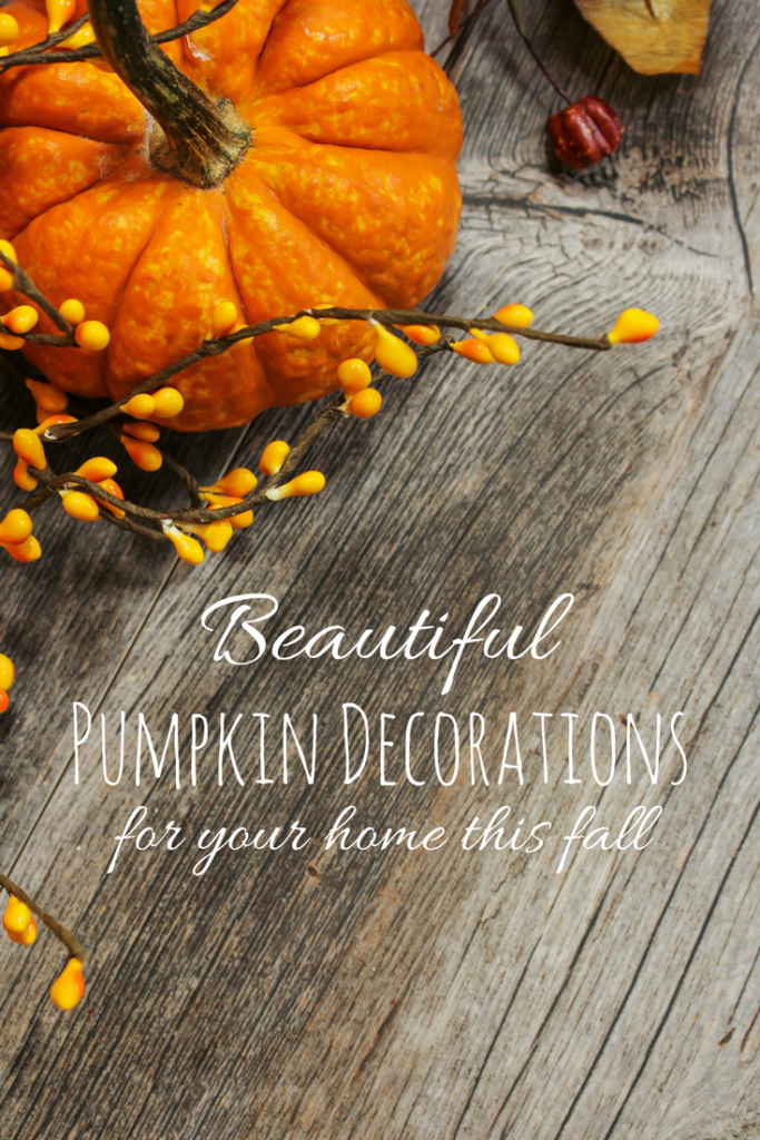 Pumpkin Decorations for Your Home