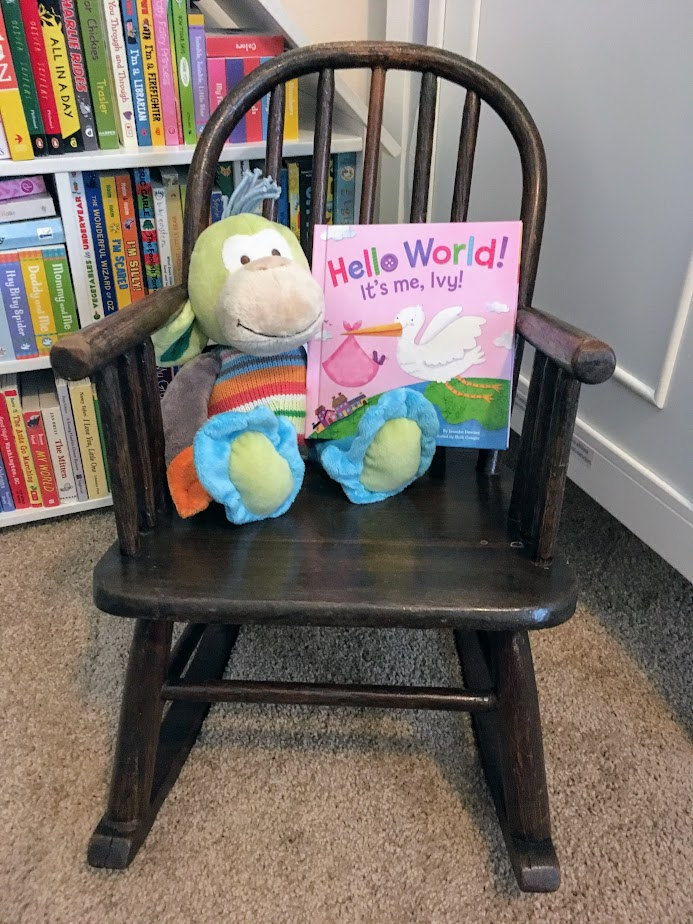 Hello World! Personalized Board Book for Baby!