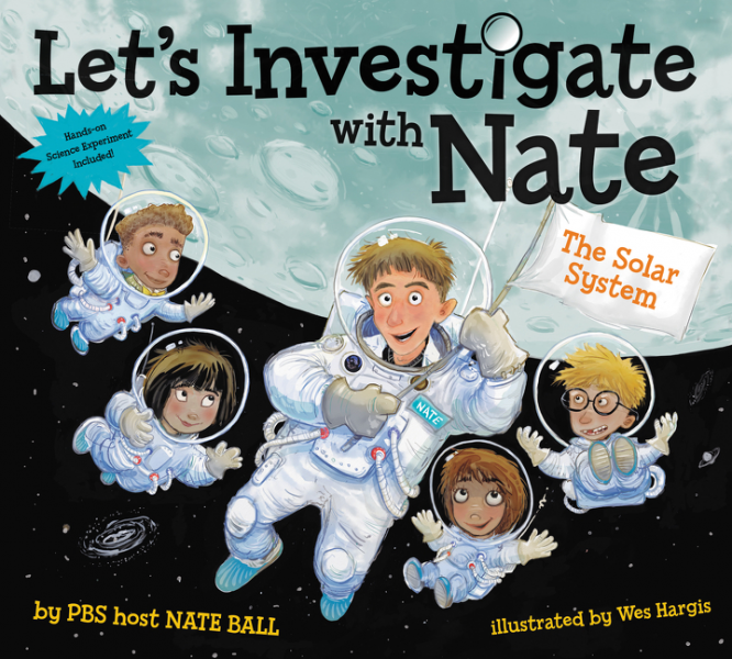 Let's Investigate with Nate is the Newest STEM-Based Picture Book Series