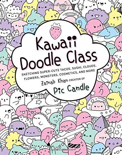 New Sketch Books: Catdoodles & Kawaii Doodle Class