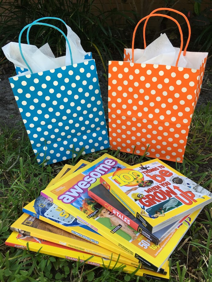 Birthday Gift Essentials from Nat Geo Kids Books + Giveaway