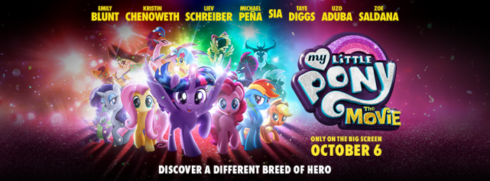 My Little Pony The Movie Coming to Theaters + $50 AE GC Giveaway