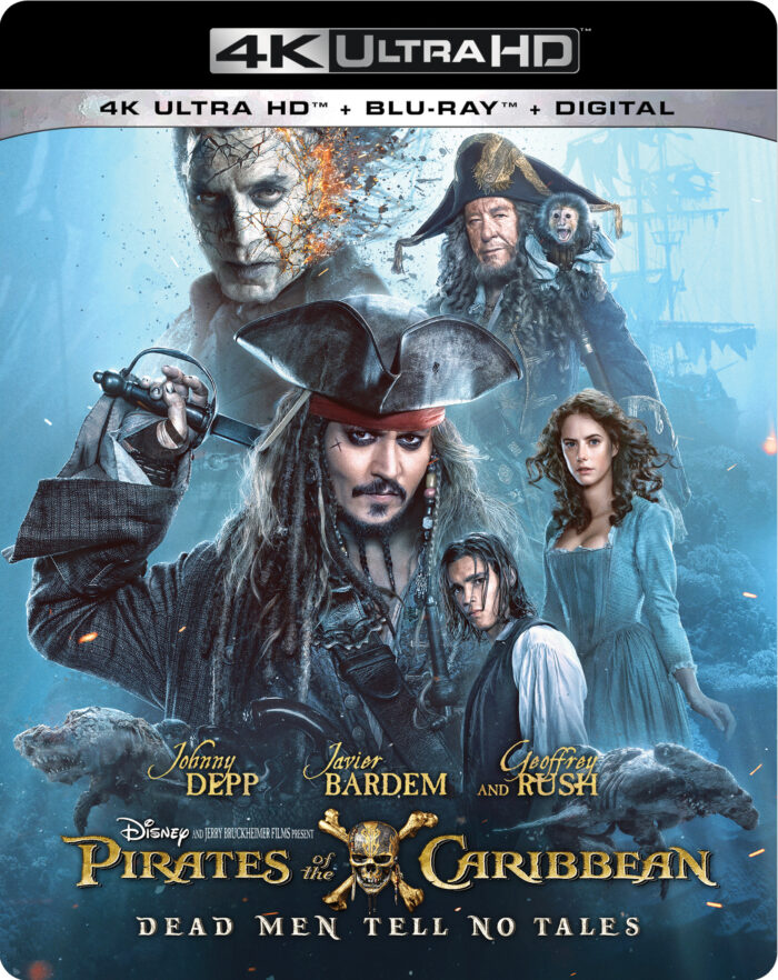 Pirates of the Caribbean: Dead Men Tell No Tales on Blu-ray October 3rd