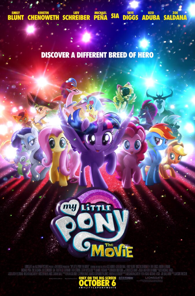 My Little Pony: The Movie ? Coming to Theaters October 6th