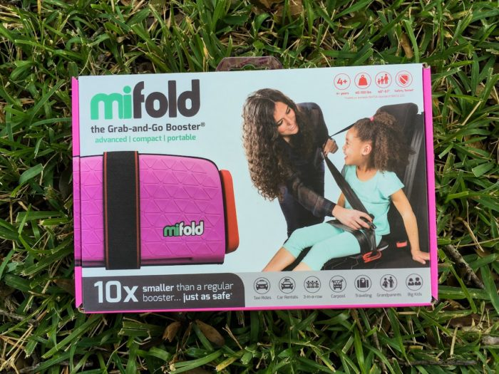 Mifold the Grab-and-Go Booster is Small & Lightweight PERFECT for Travel