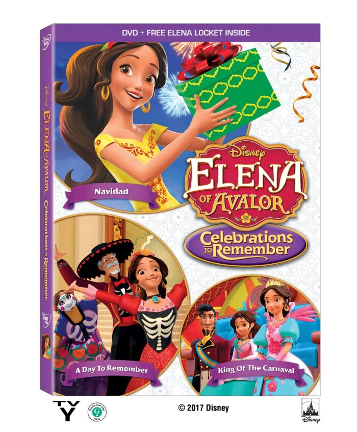 Disney's Elena of Avalor Celebrations to Remember Now on DVD