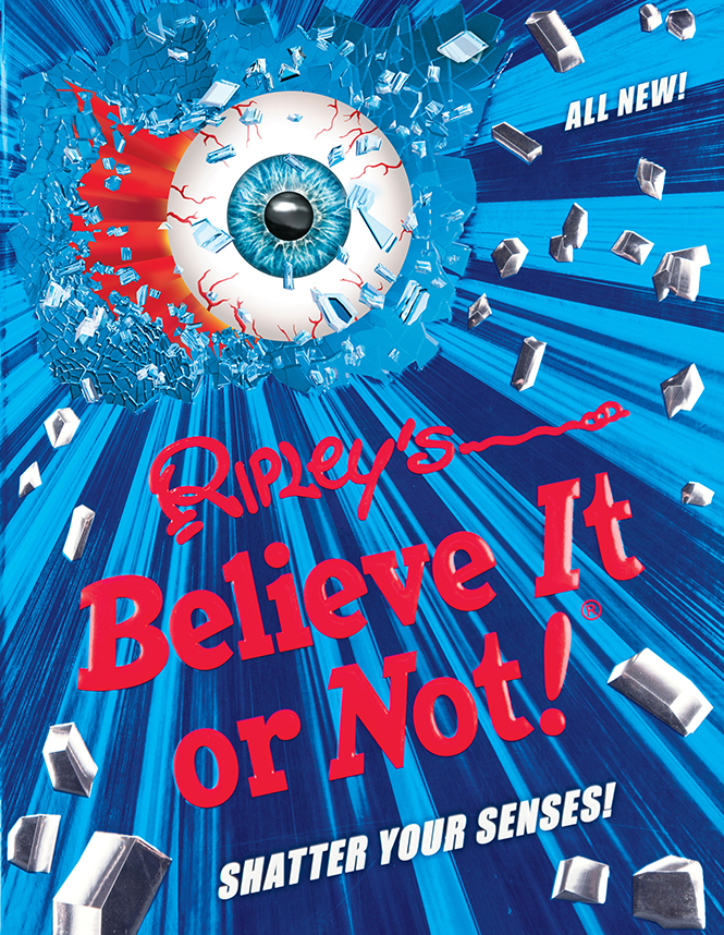 Ripley's Believe It or Not! Shatter Your Senses! is NOW ON SALE