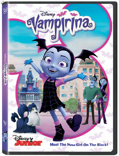Disney Vampirina on DVD
