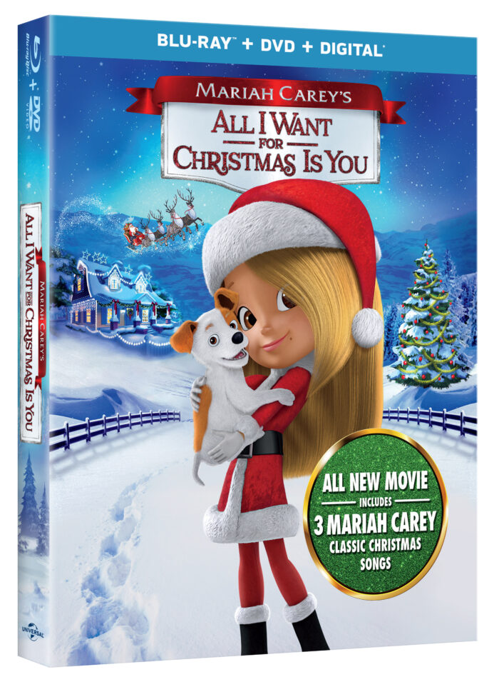 Mariah Carey's All I Want for Christmas is You!