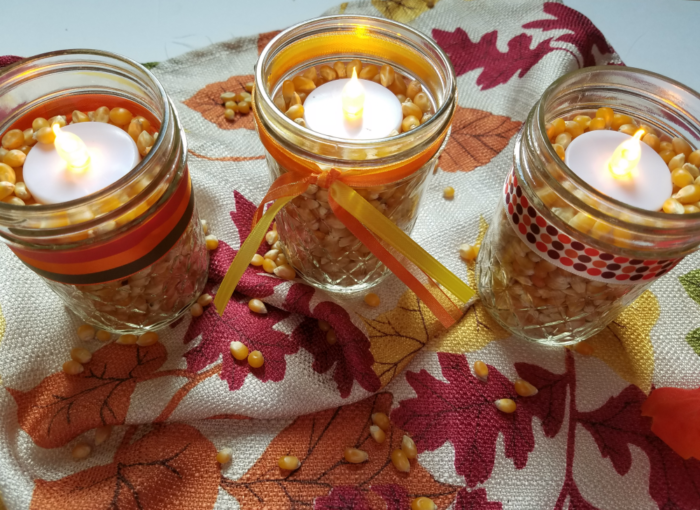 Easy Last Minute DIY Thanksgiving Decor