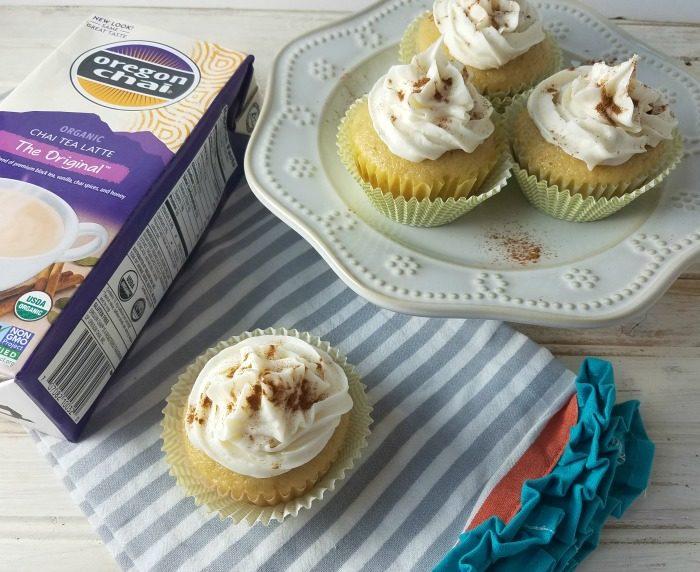 Vanilla Chai Tea Latte Cupcakes Recipe
