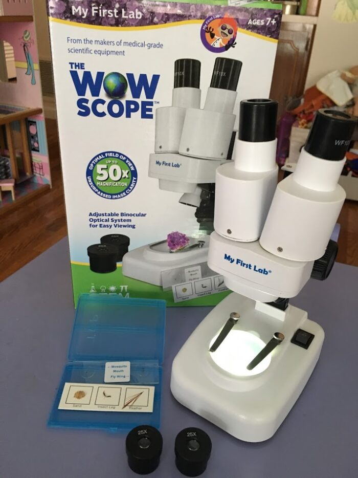 Encourage a Child's Love of Science With a My First Lab Microscope