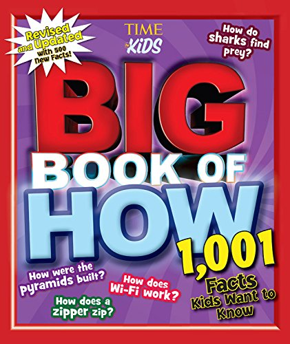 TIME for Kids Volumes: Big Book of How & Big Book of Why + Giveaway