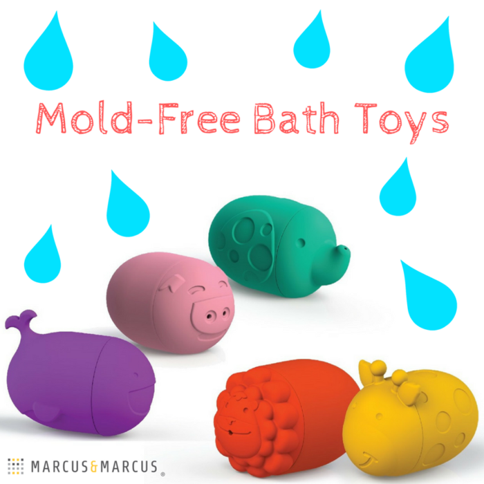 Marcus & Marcus Mold Free Squirting Bath Toys