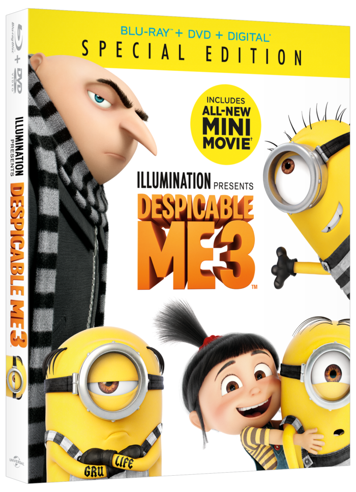 Despicable Me 3 on Blu-ray Combo Pack