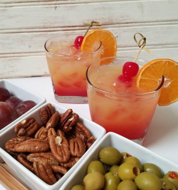 Easy Tequila Sunrise Cocktail Recipe