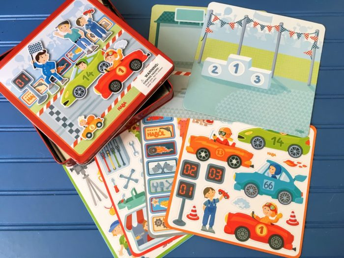 Zippy Cars Magnetic Game