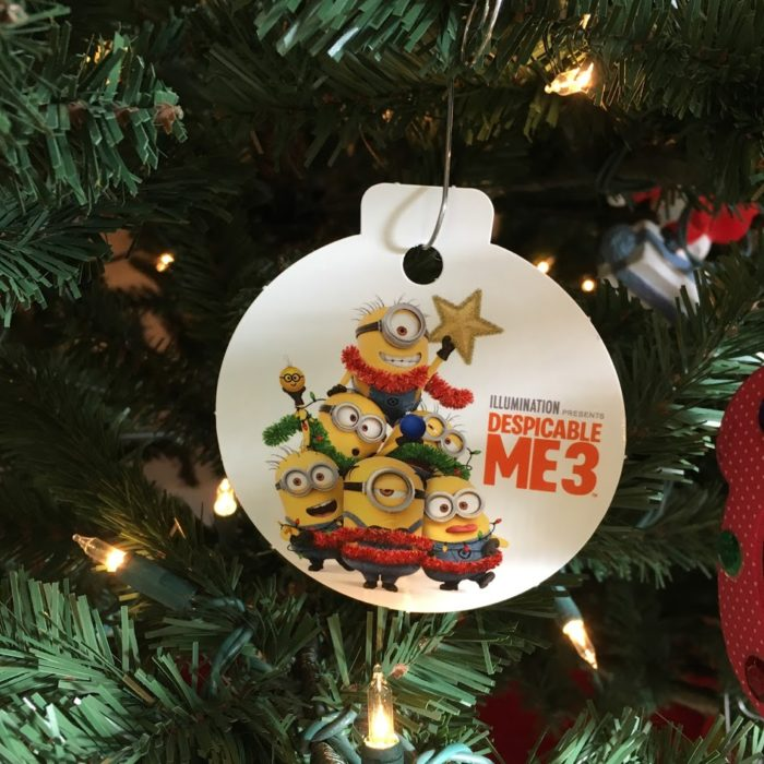 Despicable Me 3 on Blu-ray Combo Pack ornament
