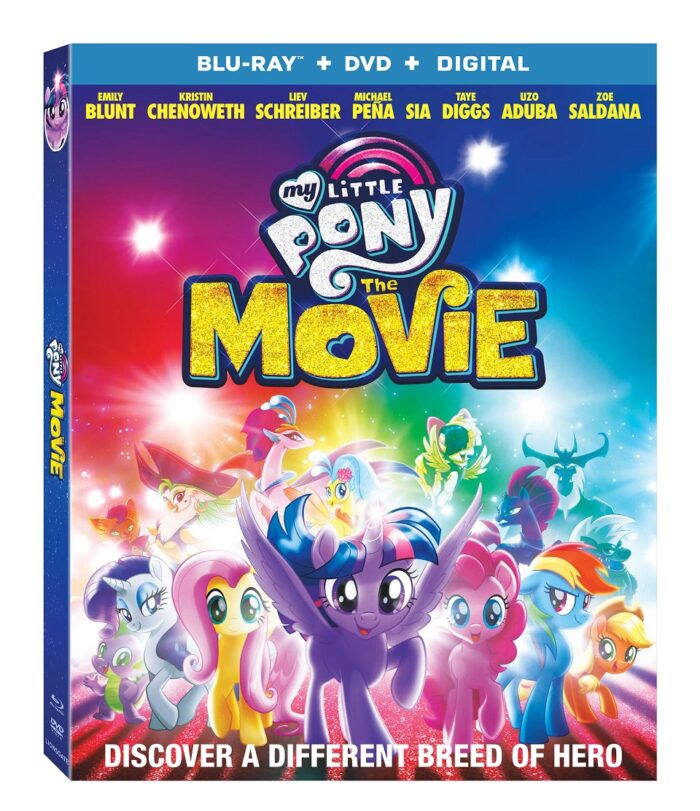 My Little Pony The Movie on Digital December 19th & Blu-ray Combo Pack, DVD & On Demand January 9