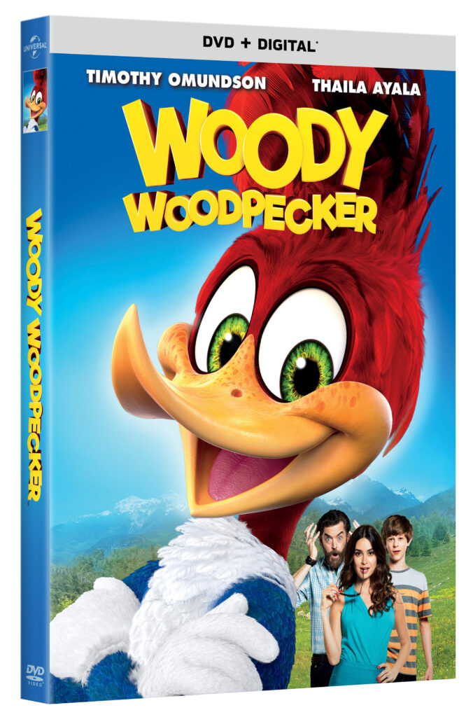 Woody Woodpecker Arrives on DVD, Digital & On Demand on February 6th