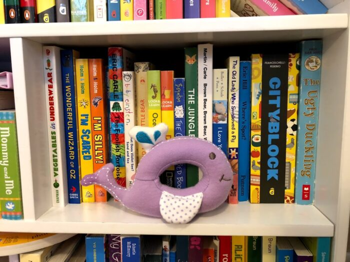 The Marcus & Marcus Organic Rattle Willow the Whale is Too Cute!