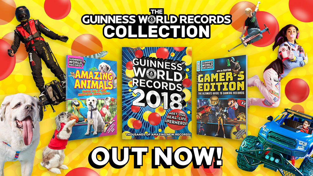 the latest and greatest guinness world records books for. Black Bedroom Furniture Sets. Home Design Ideas