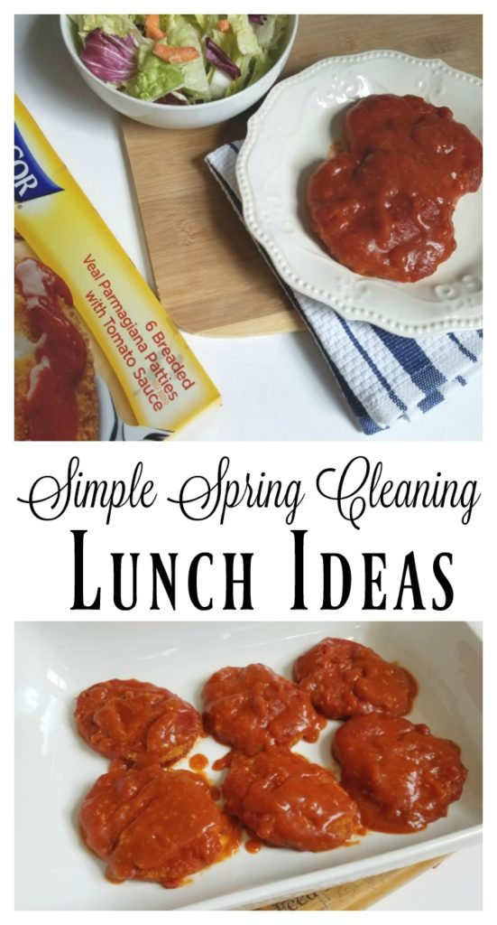 Simple Spring Cleaning Lunch Ideas
