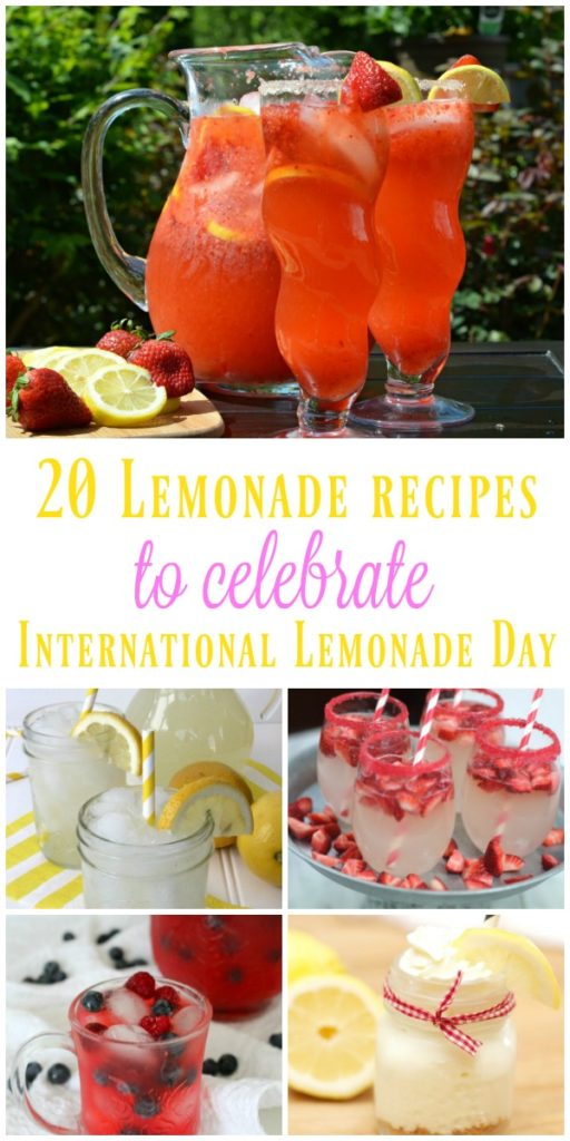 20 Recipes for International Lemonade Day