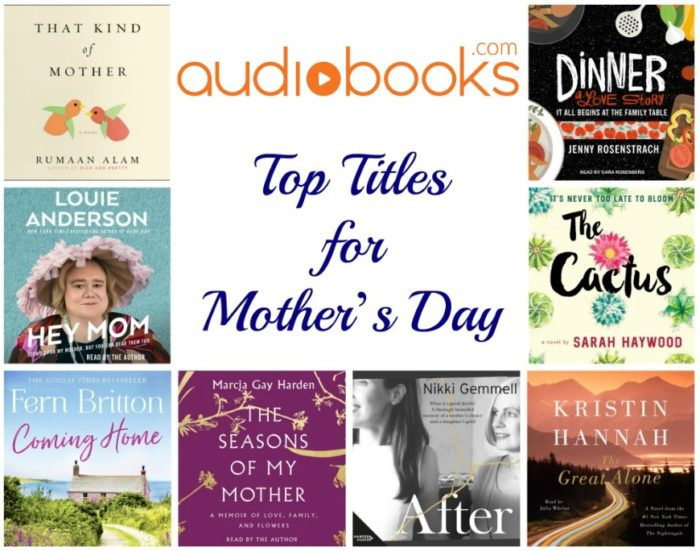 Audiobooks.com Top Titles for Mother's Day + Giveaway
