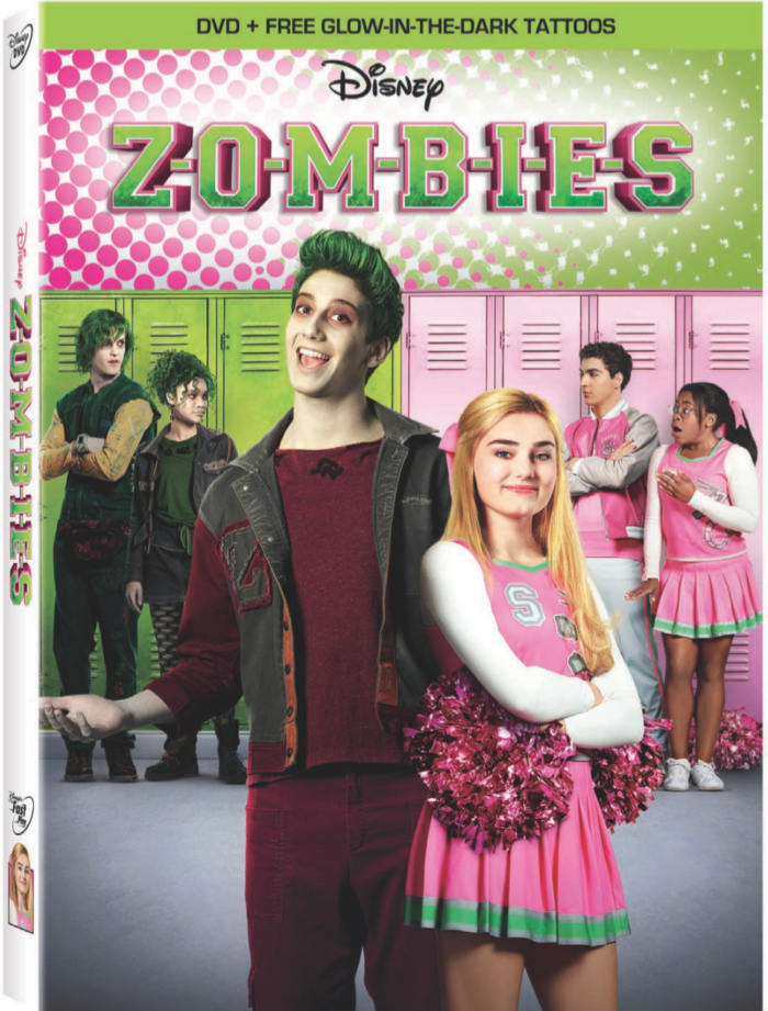 Disney's ZOMBIES on DVD on April 24th