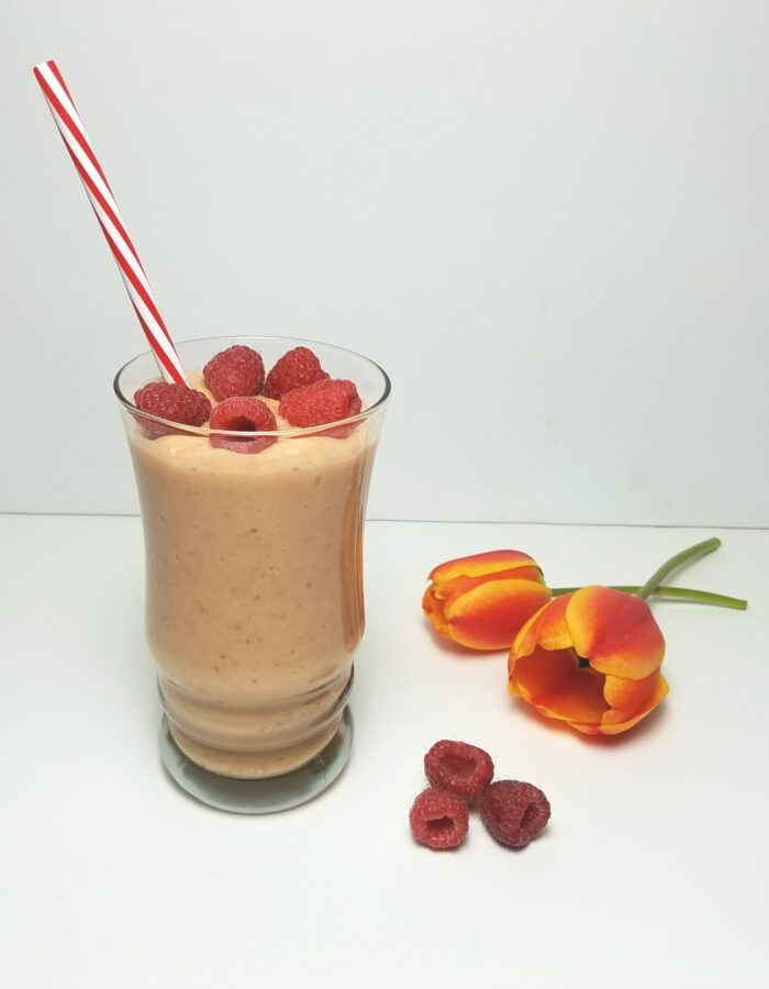 Fruity Sunrise Smoothie to Relieve Constipation