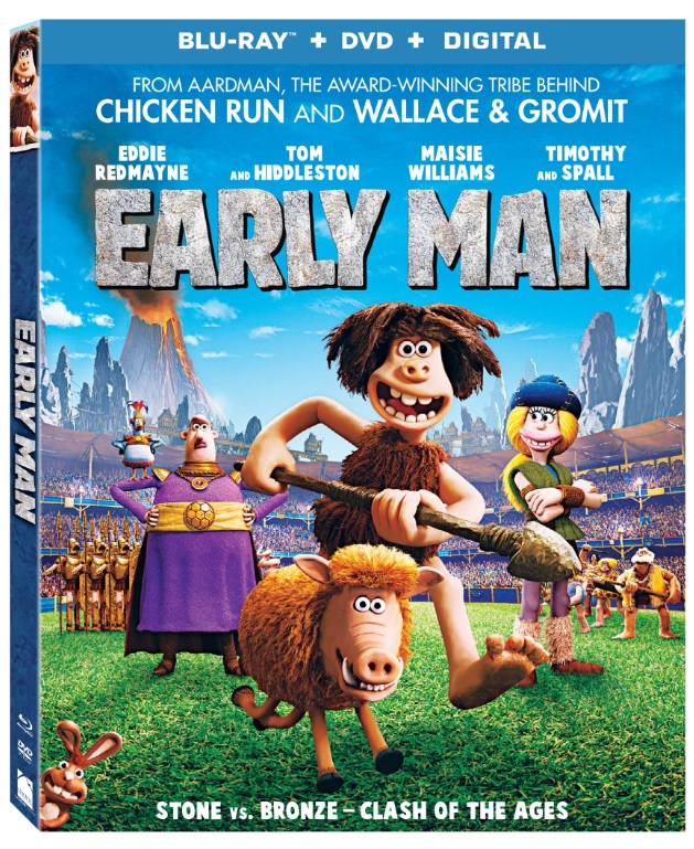 Early Man Arrives on Digital May 15th & on Blu-ray Combo Pack, DVD & On Demand May 22nd