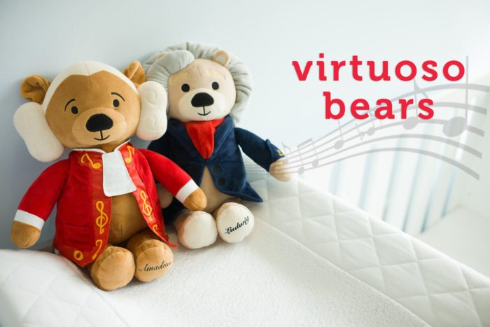 Virtuoso Bears: Amadeus & Ludwig Play Soothing Classical Music for Baby + Giveaway