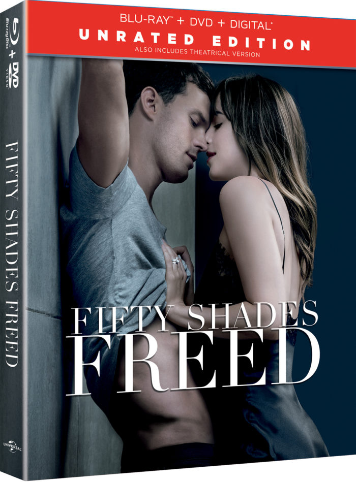 Fifty Shades 3-Movie Collection Unrated Edition On Blu-ray, Digital & DVD May 8th